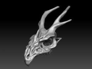 ドラゴンの骸骨を目指そうとして挫折。