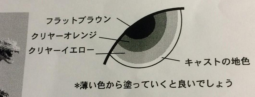 酒井さんのキットは説明書に組立方・塗り方も載っている。