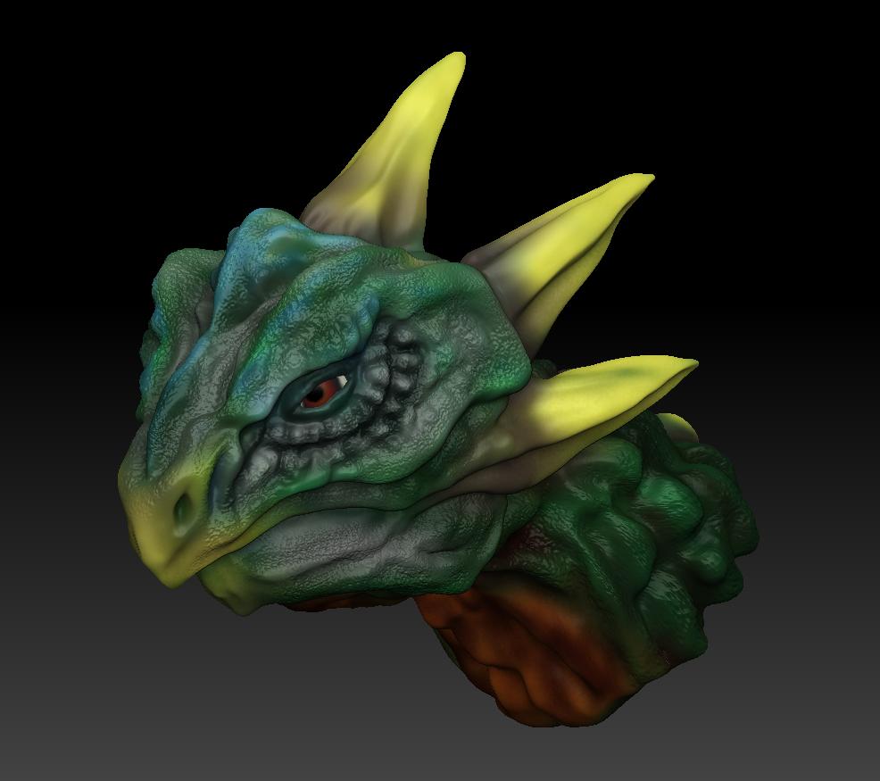 ドラゴンの頭っぽいもの