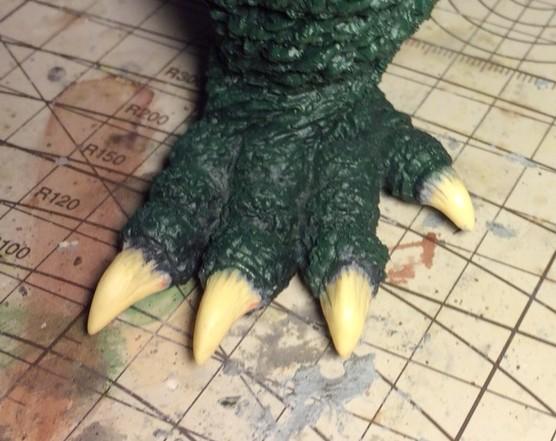 足の爪の初期状態
