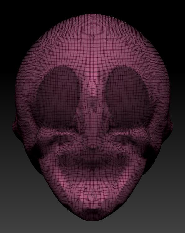 眼の部分をMask