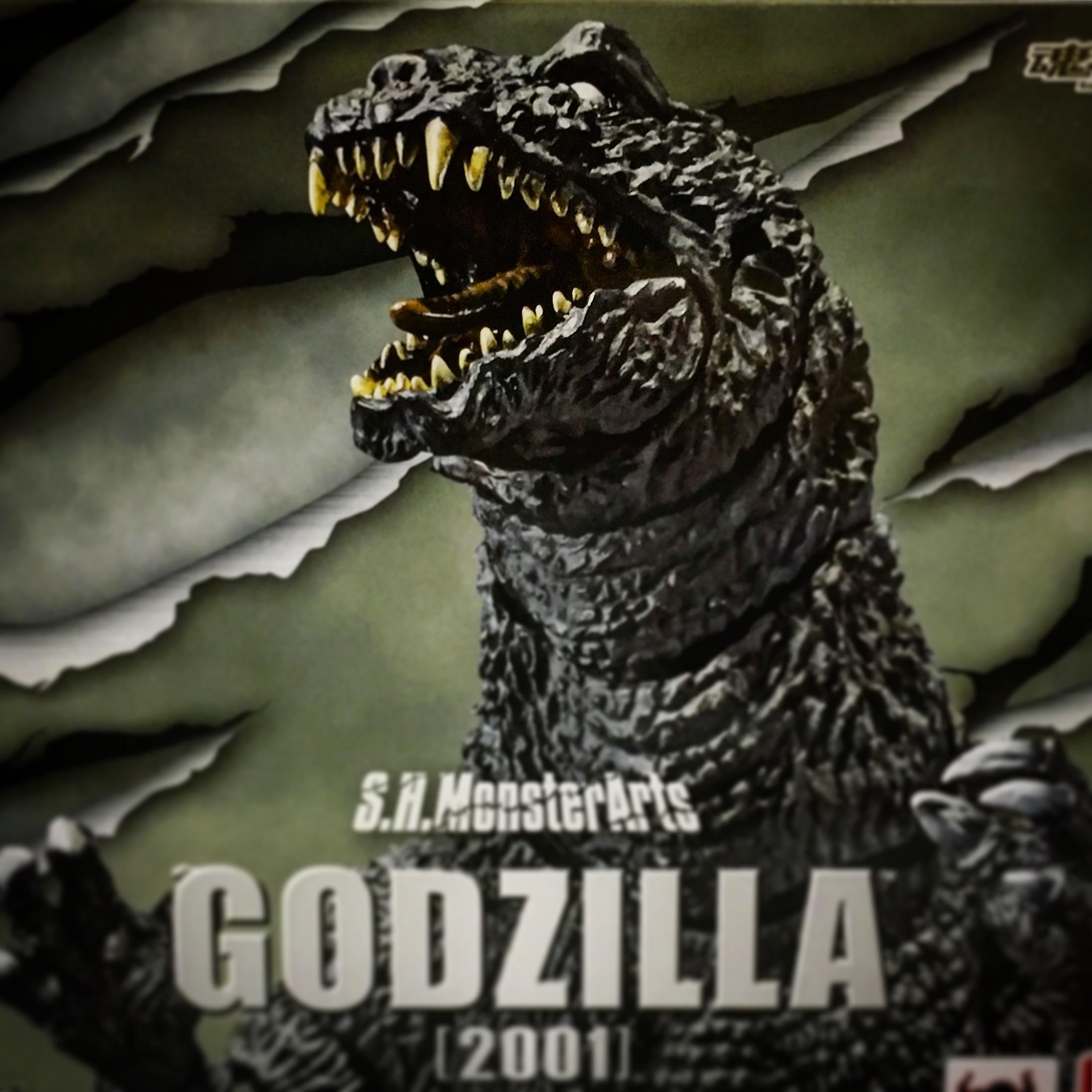 S.H.MonsterArts ゴジラ(2001)パッケージ