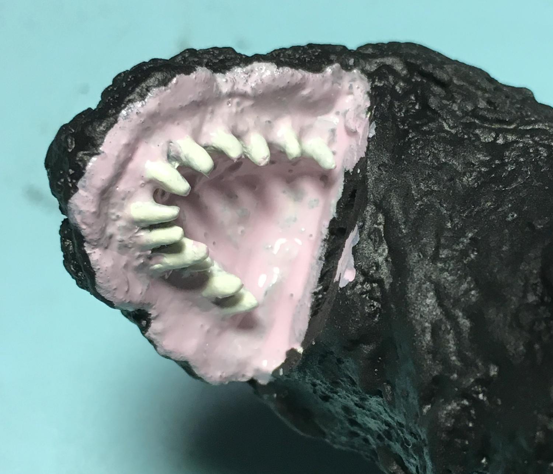歯茎を塗る